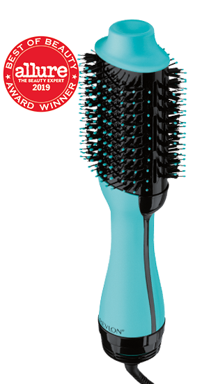 Salon One-Step Hair Dryer and Volumizer in mint