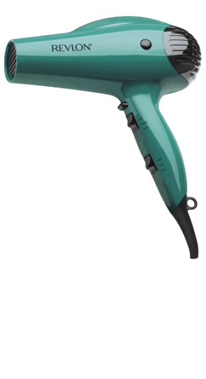 Revlon 1875W Volume Booster Hair Dryer in mint
