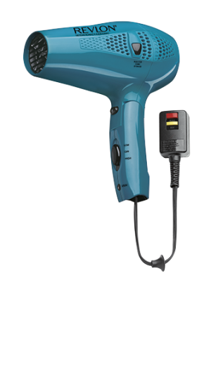 Cord Control HAIR DRYER in blue color