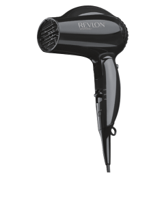 COMPACT TRAVEL HAIR DRYER in black